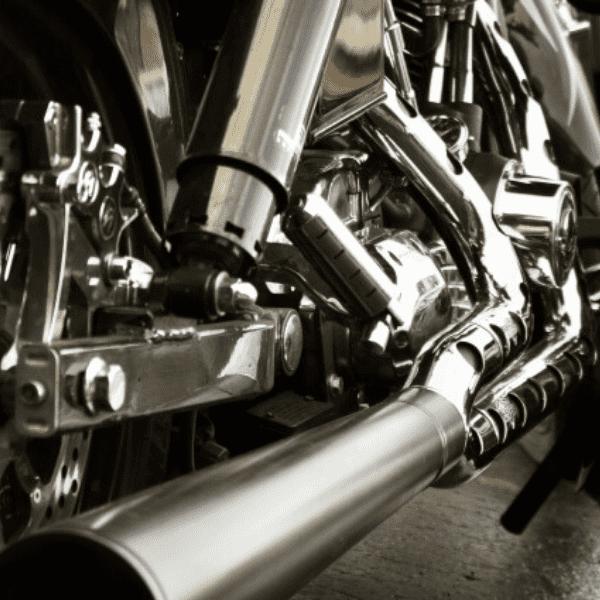 調査で使用するバイク