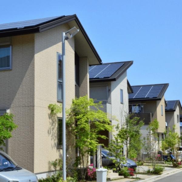 札幌市白石区の住宅街